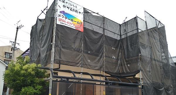 大阪府摂津市 T様邸 屋根塗装・外壁塗装・付帯部塗装 (2)