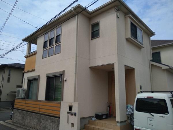 大阪府枚方市 外壁塗装・付帯部塗装 (1)