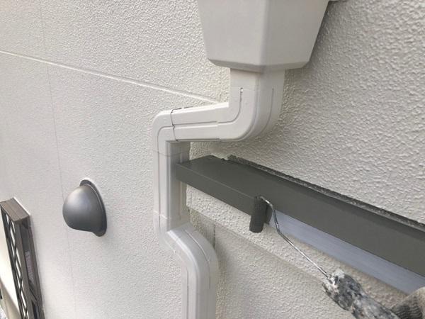 大阪府枚方市 I様邸 外壁塗装・付帯部塗装 水切り板金塗装 シャッターボックス塗装 (1)