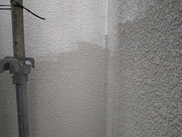 大阪府摂津市 T様邸 屋根塗装・外壁塗装・付帯部塗装 モルタル外壁 ダイヤスーパーセランフレックス (2)
