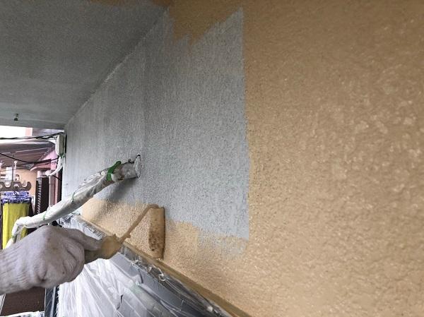 大阪府摂津市 T様邸 屋根塗装・外壁塗装・付帯部塗装 モルタル外壁 ダイヤスーパーセランフレックス (6)