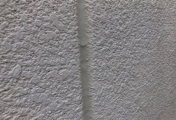 大阪府大阪市住吉区 府営住宅 外壁塗装・防水工事 外壁目地 シーリング(コーキング)工事 (2)
