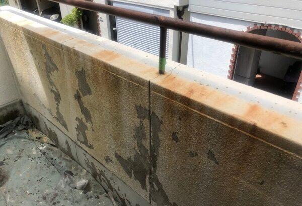 大阪府大東市 外壁塗装・防水工事 雨漏り補修 施工前の状態