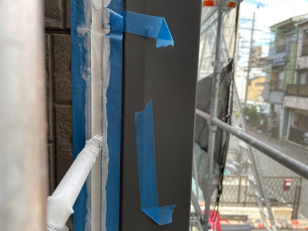 大阪府大阪市住之江区 外壁塗装・付帯部塗装 シーリング 二面接着とは (3)