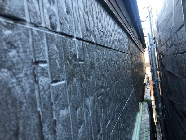 大阪府大阪市住之江区 外壁塗装・付帯部塗装 吹き付け工法とローラー工法 (1)