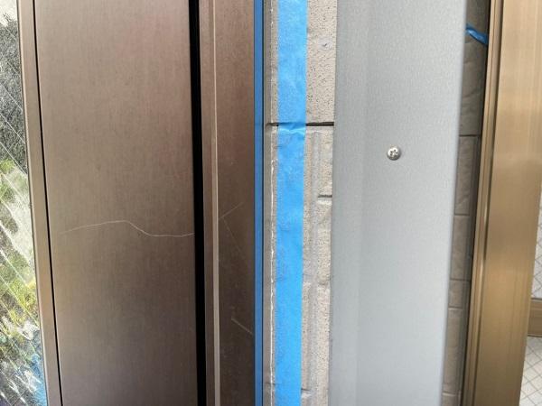 大阪府大阪市住之江区 外壁塗装・付帯部塗装 シーリング 二面接着とは (5)