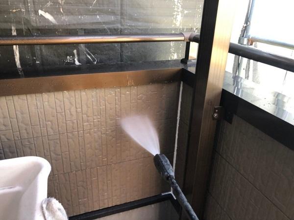 大阪府大阪市住之江区 外壁塗装・付帯部塗装 (2)