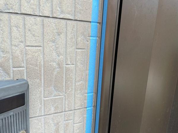 大阪府大阪市住之江区 外壁塗装・付帯部塗装 シーリング 二面接着とは (1)